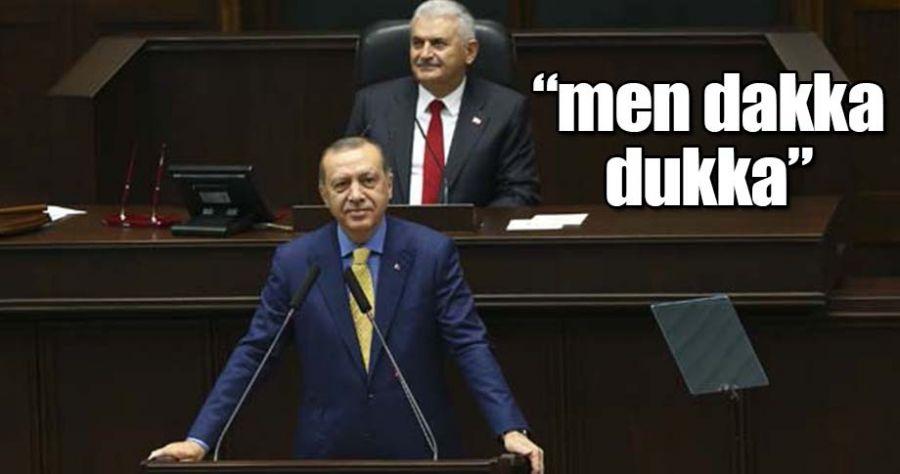 Erdoğan 1044 gün sonra kürsüde