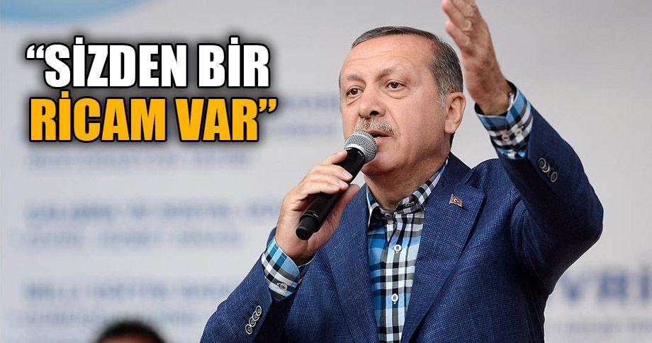 Erdoğan Ceylanpınarlılara hitap etti