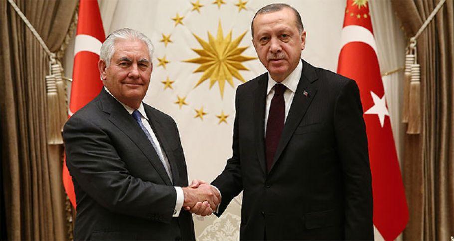 Erdoğan Tillerson görüşmesi 3 saat 15 dakika sürdü