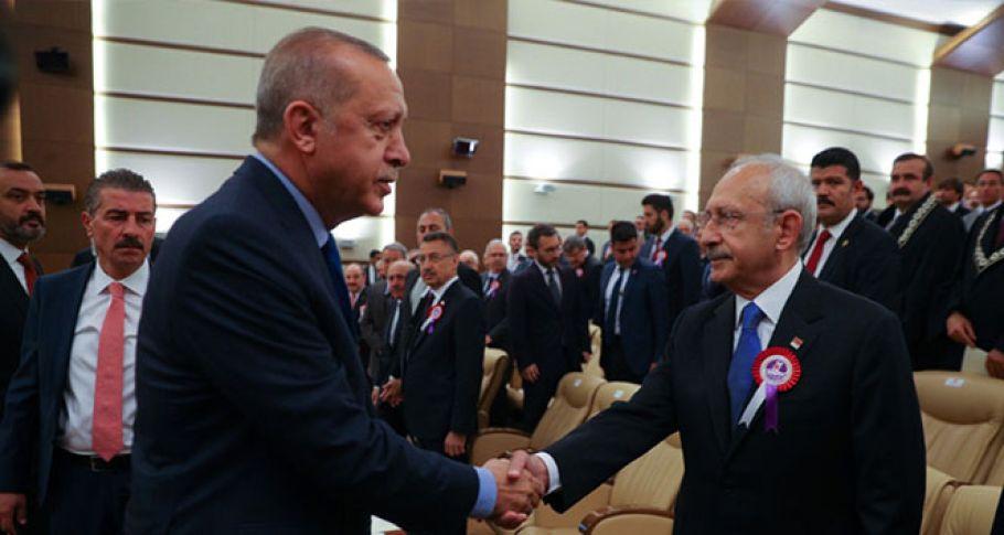 Erdoğan ve Kılıçdaroğlu saldırı sonrası ilk kez görüştü