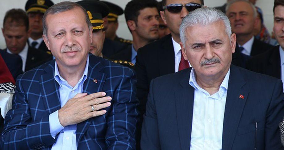 Erdoğan ve Yıldırım'dan teşkilata mesaj!