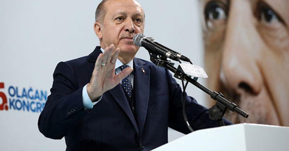 Erdoğan'dan partililere 'sahaya inin' talimatı