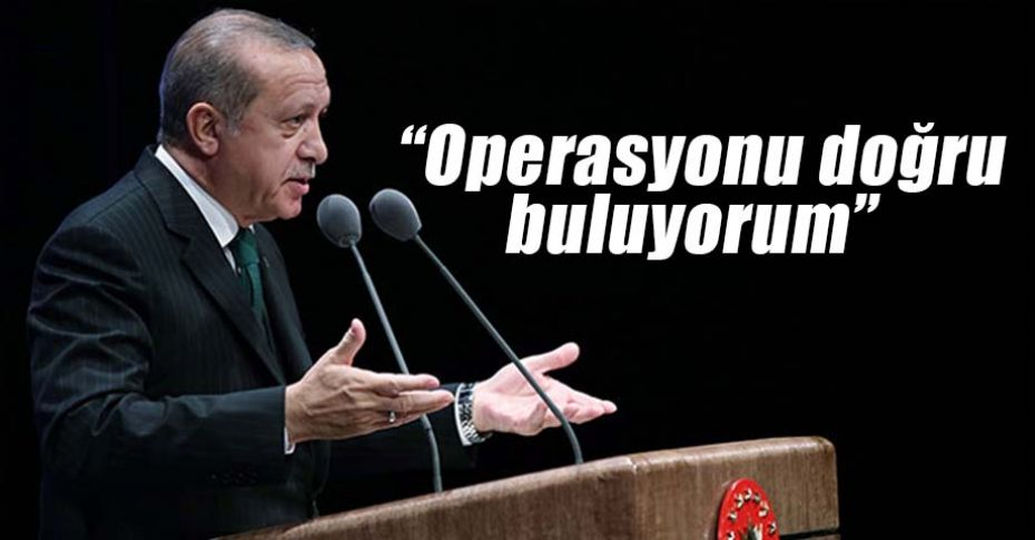 Erdoğan'dan Suriye açıklaması