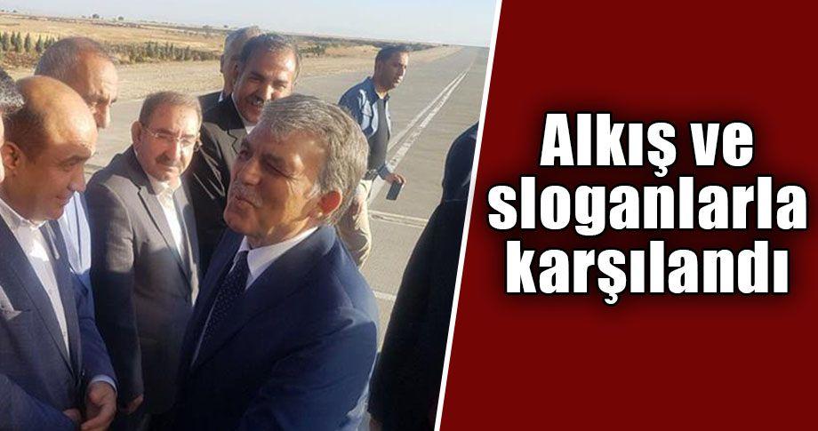 Eski Cumhurbaşkanı Abdullah Gül Şanlıurfa'ya geldi