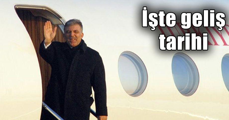 Eski Cumhurbaşkanı Abdullah Gül Şanlıurfa'ya geliyor