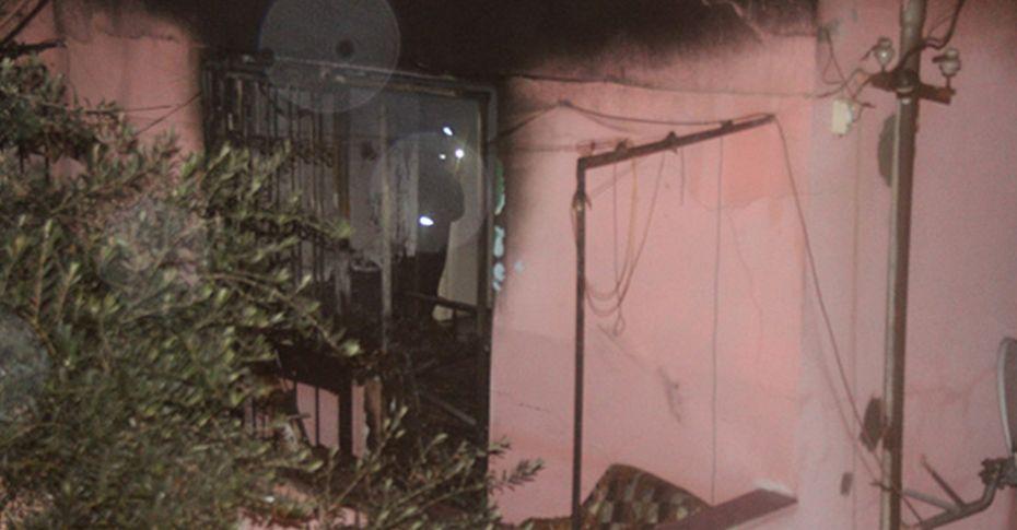 Evde mahsur kalan 83 yaşındaki adam yanarak can verdi
