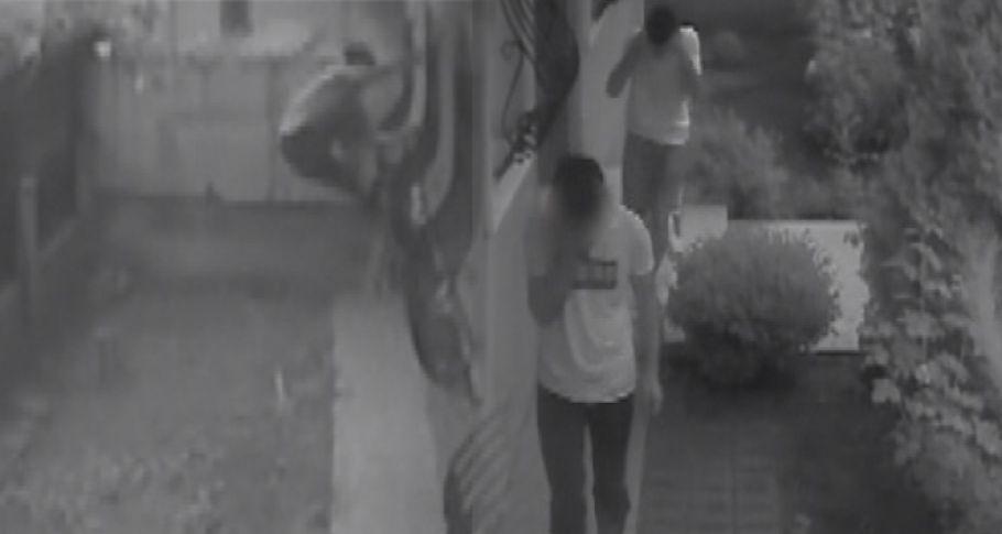 Evlere dadan hırsızlar önce kameraya sonra polise yakalandı