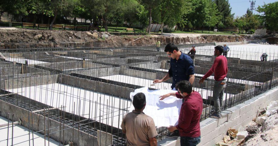 Eyüpnebi'de Sabır Makamına Yakışır Cami Ve Külliyesi İnşaatı (videolu)