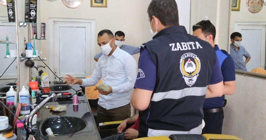 Eyyübiye Belediyesi, denetimlerini sürdürüyor (videolu)