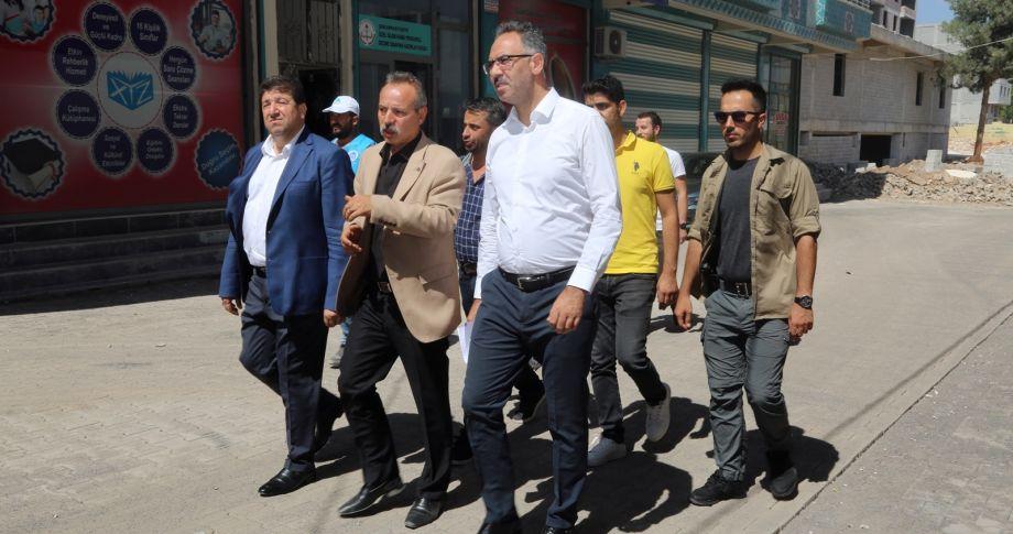 Eyyübiye Belediyesi Hummalı Çalışmasını Sürdürüyor.