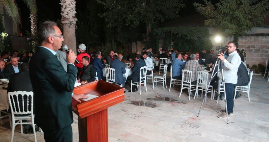 Eyyübiye Belediyesinde Muhtarlar günü kutlandı