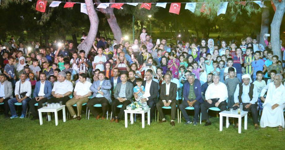 Eyyübiye 'de vatandaştan Ramazan etkinliklerine yoğun ilgi (videolu)