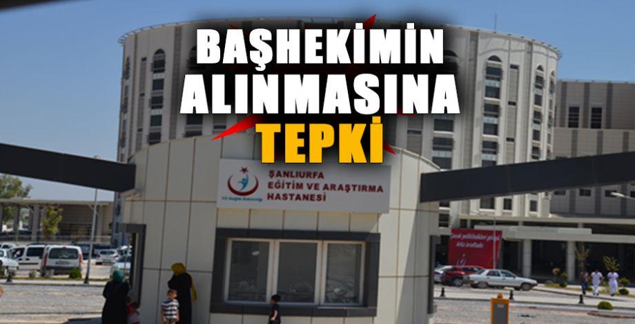 Eyyübiye Devlet Hastanesi önünde gerginlik!