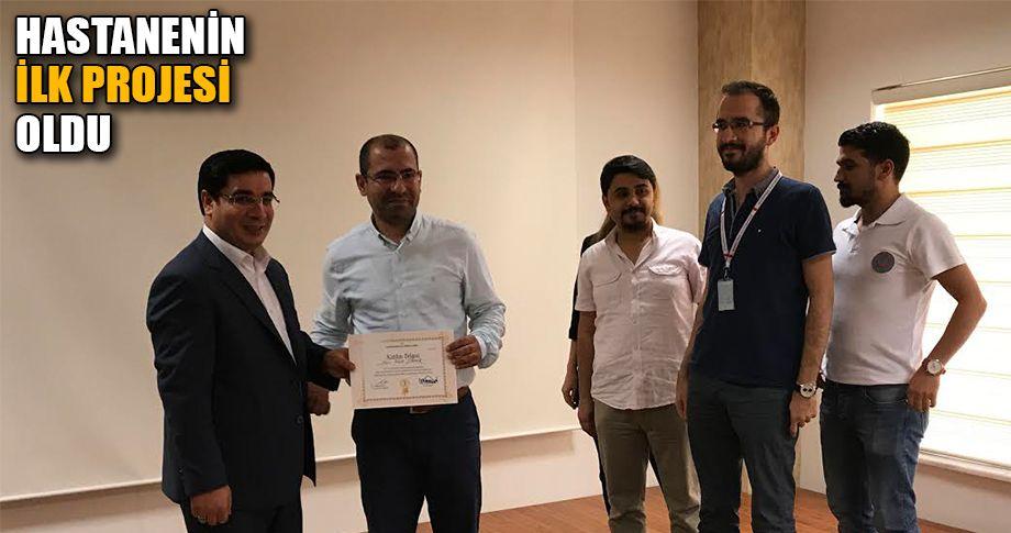 Eyyübiye Hastanesi'nde AR-GE eğitimi verildi