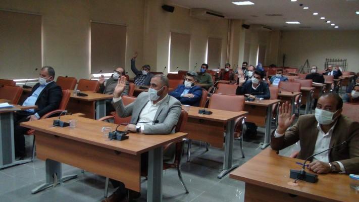 Eyyübiye Meclisi'nde komisyon kararları oybirliğiyle kabul edildi