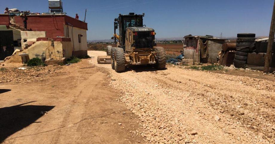 Eyyübiye'de yol yapım çalışmaları hız kazandı