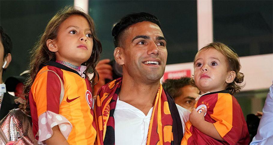 Falcao, Galatasaray'ın 6. Kolombiyalısı oldu
