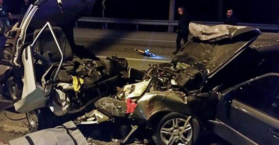 Feci kaza! 2 ölü 6 yaralı