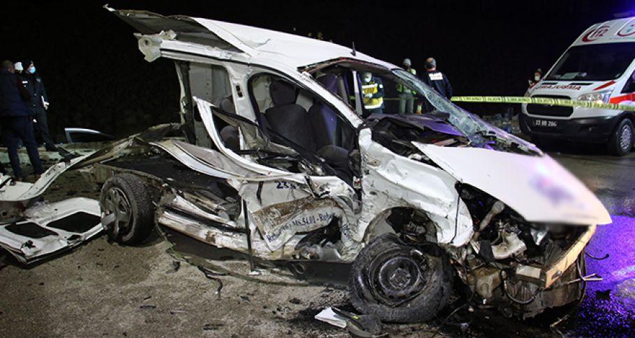 Feci kaza: 4 ölü 2 yaralı