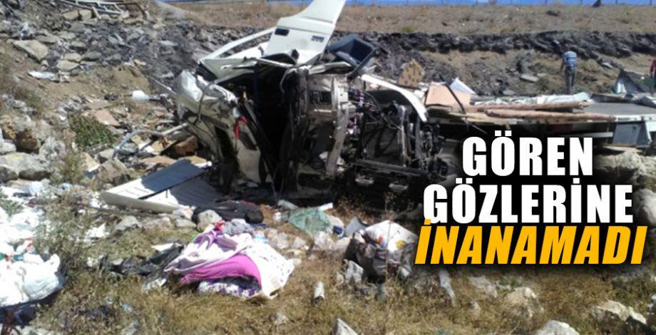 Feci kazada 1 kişi öldü 2 kişi yaralandı!
