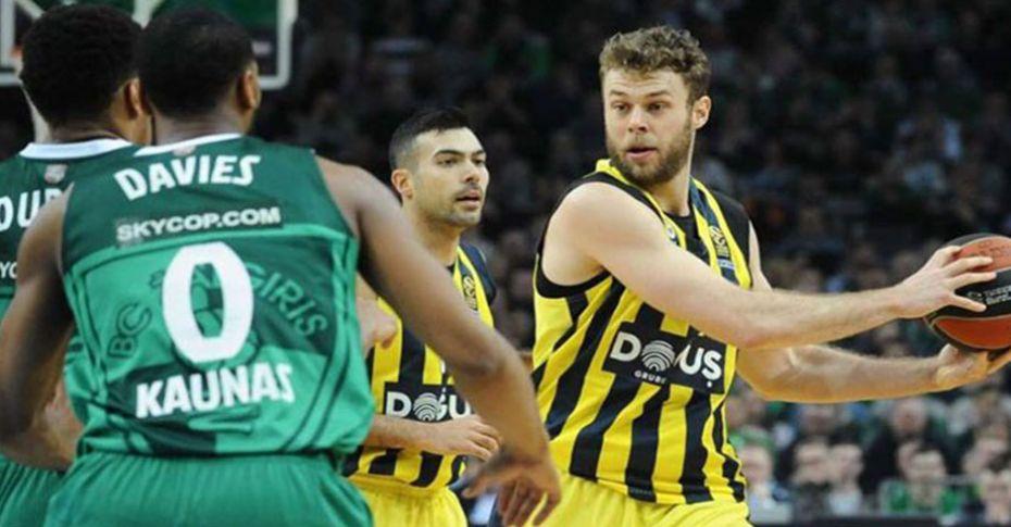 Fenerbahçe Doğuş Zalgiris Kaunas maçı, dev ekranla Şanlıurfa'da!