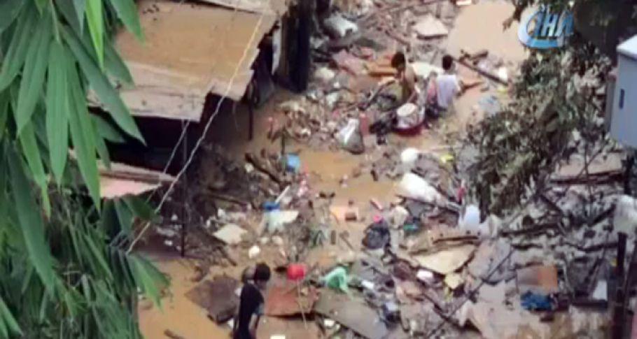 Filipinler'de sel! 6 ölü