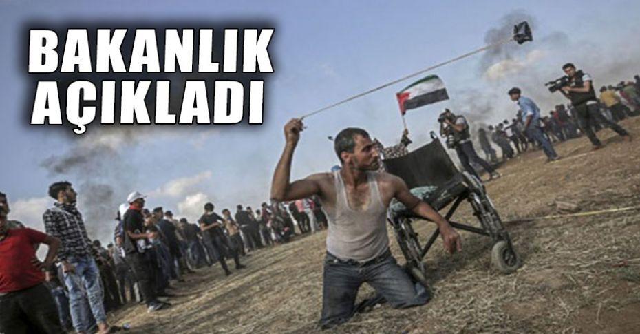 Filistin'de hayatını kaybedenlerin sayısı yükseliyor!