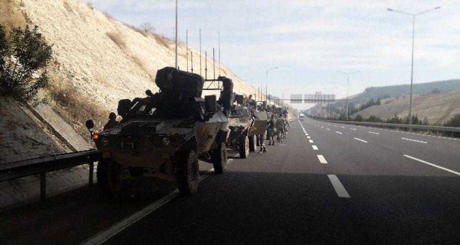 Fırat'ın doğusundaki bazı birlikler Fırat'ın batısına kaydırılıyor