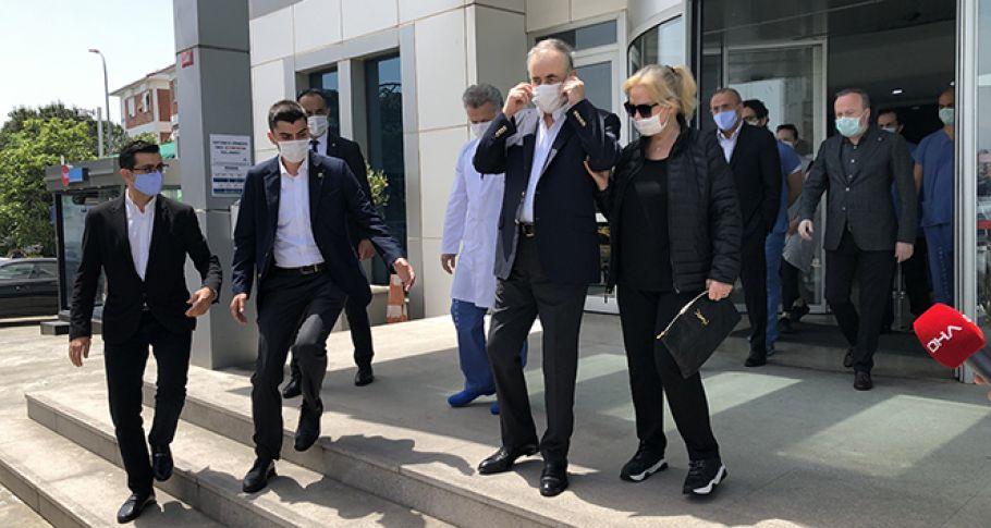 Galatasaray Başkanı Mustafa Cengiz, mide kanaması sebebiyle ameliyata alındı