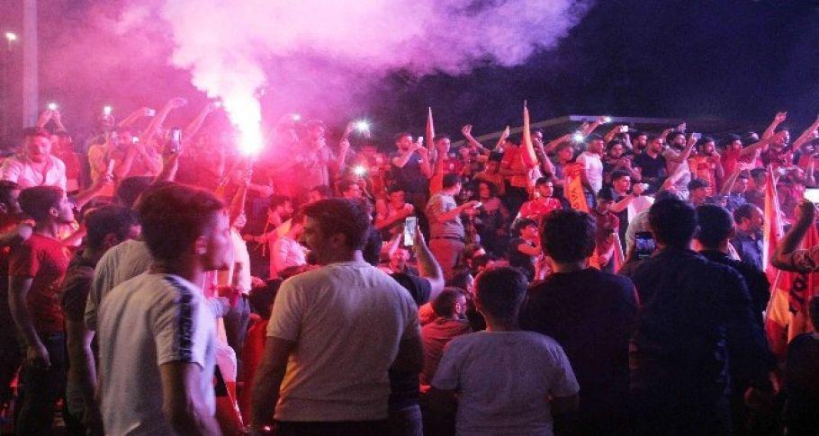 Galatasaray'ın şampiyonluğu Şanlıurfa'da kutlandı!