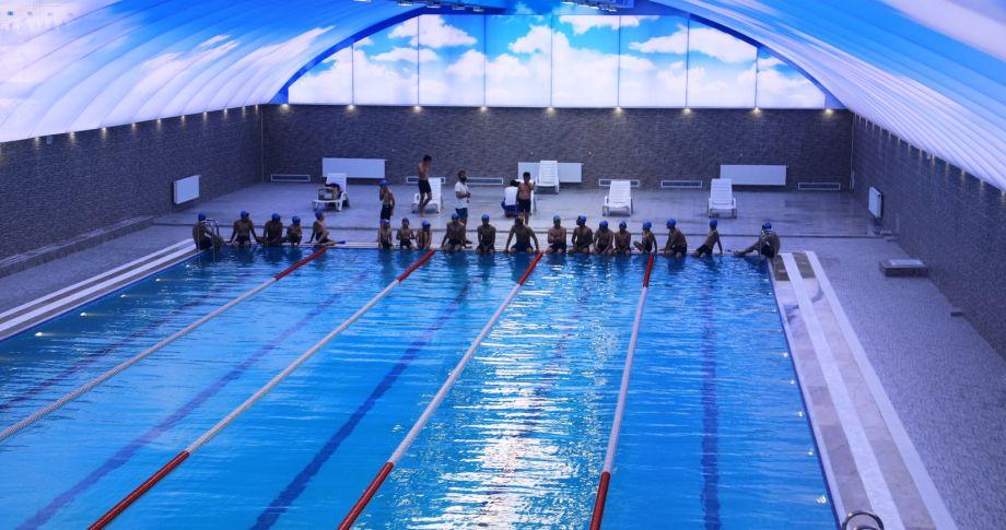 GAP Vadisi Havuzu Vatandaşların Hizmetine Sunuluyor (videolu)