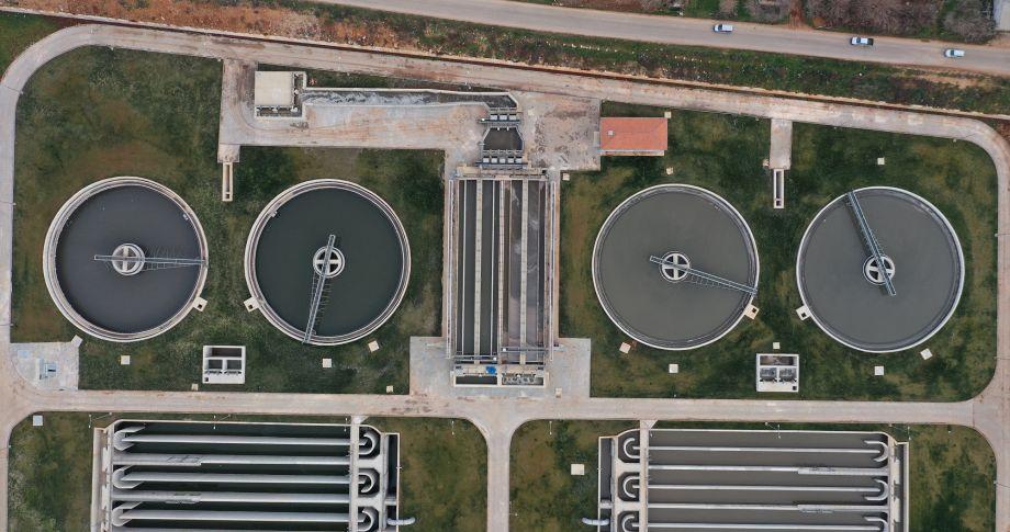 GASKİ bölgenin en büyük ileri biyolojik atıksu arıtma tesisi su almaya başladı