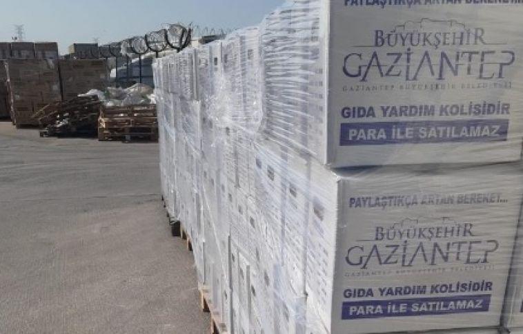 Gaziantep Büyükşehir, Ramazanla Birlikte Yardımlaşmayı Hızlandırdı