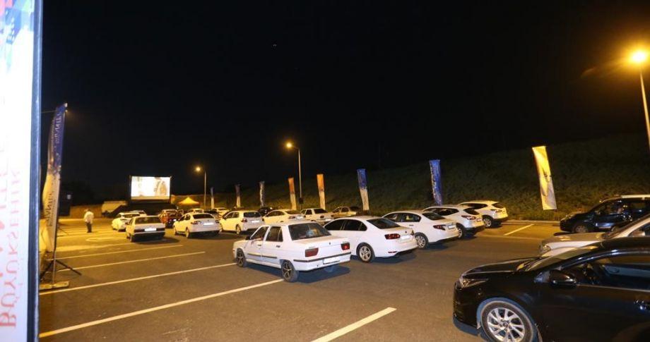 Gaziantep Büyükşehir'den arabalı sinema günleri