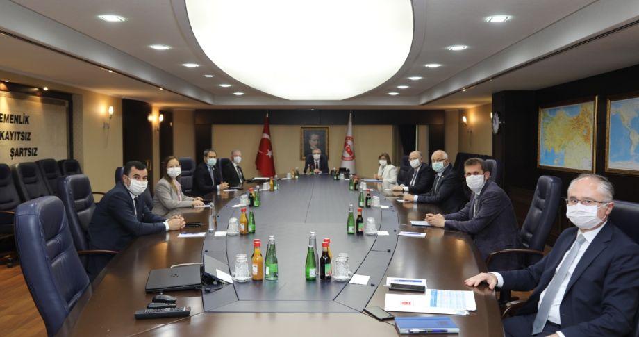 Gaziantep heyetinden Ankara'ya yatırım çıkarması