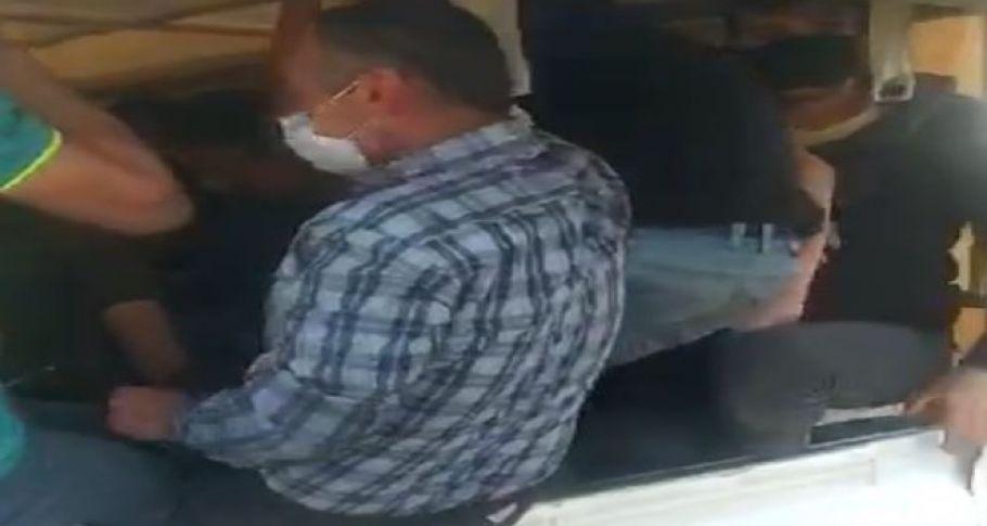 Gaziantep'te bu kadar da olmaz dedirten görüntü