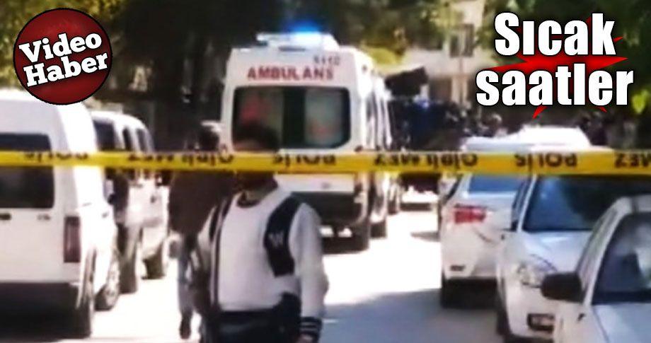 Gaziantep'te çatışma... Baskına giden polislere ateş açıldı