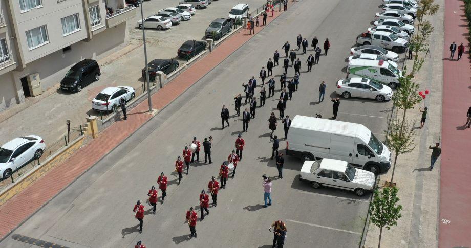 Gaziantep'te Corona, 23 Nisan Coşkusuna Engel Olmadı