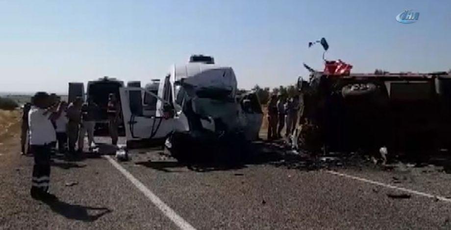 Gaziantep'te kaza! Çok sayıda ölü ve yaralı var...