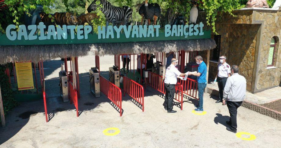 Gaziantep'te Yeni normalleşme öncesi son hazırlıklar denetlendi