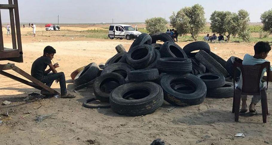 Gazze'de 1 ölü, 396 yaralı