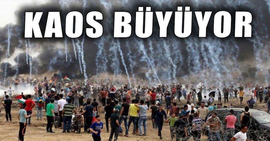 Gazze'de hayatını kaybedenlerin sayısı 61'e yükseldi!