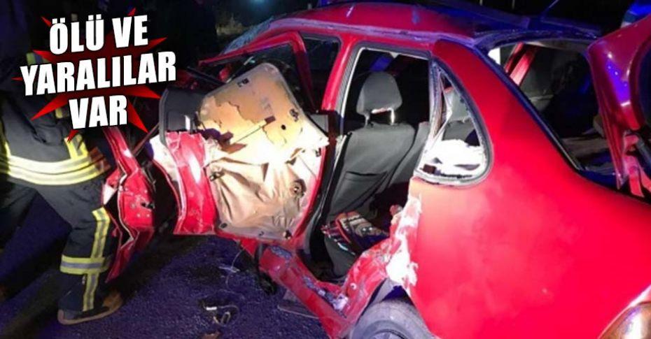 Gece saatlerinde korkunç kaza!