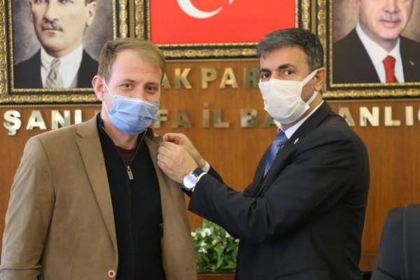 Gelecek Partisi'nden istifa edip AK Parti'ye katıldı