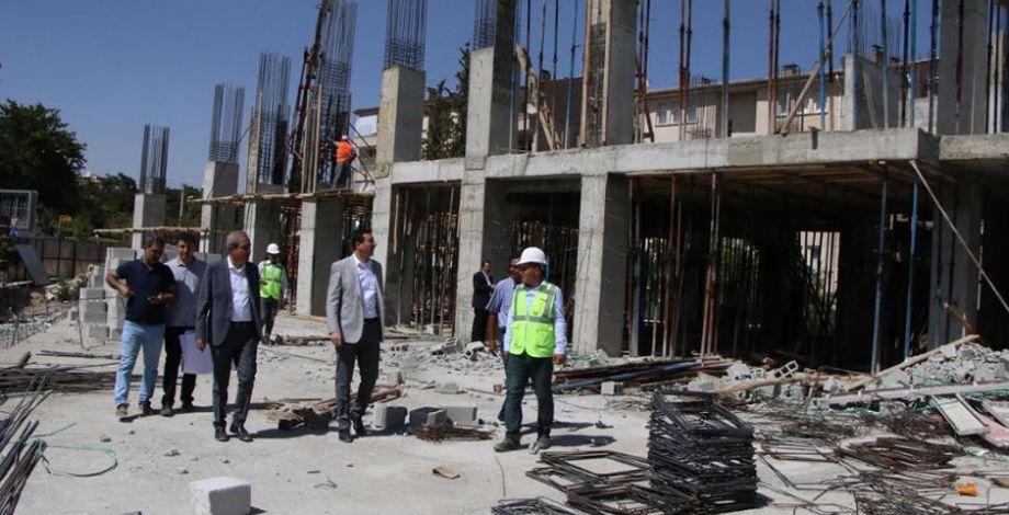 Gençlik ve Kültür merkezi inşaatı devam ediyor