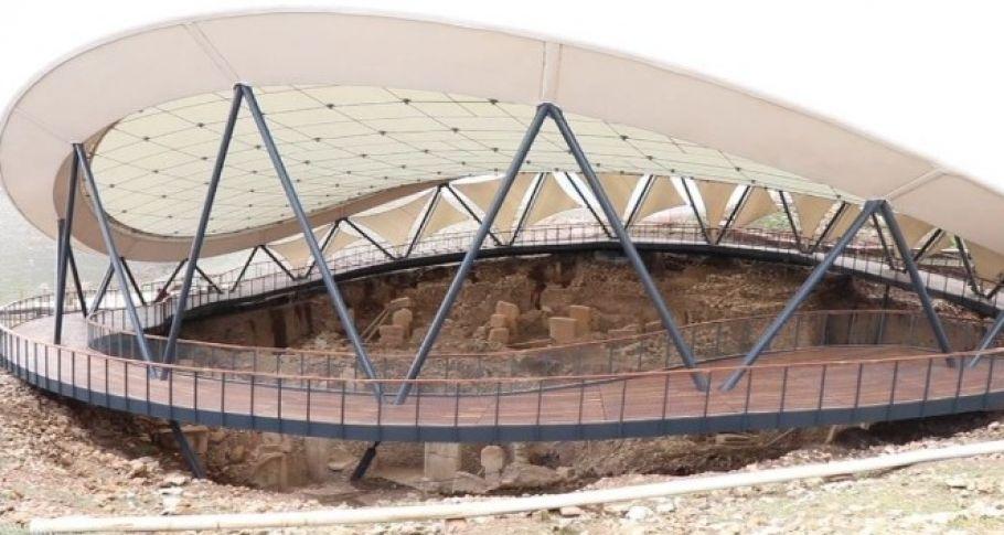 Göbeklitepe'de çatı bakım ve onarım çalışması başlatıldı