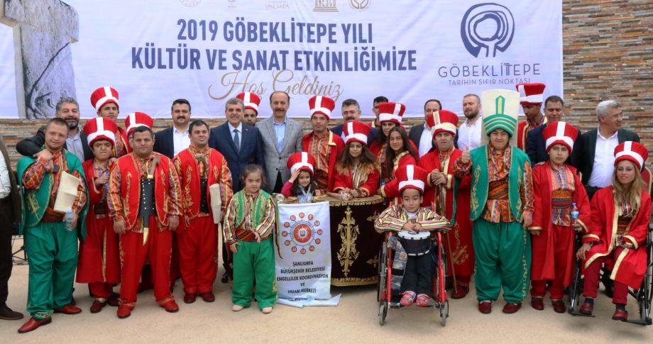Göbeklitepe'de kültür ve sanat etkinlikleri başladı (videolu)