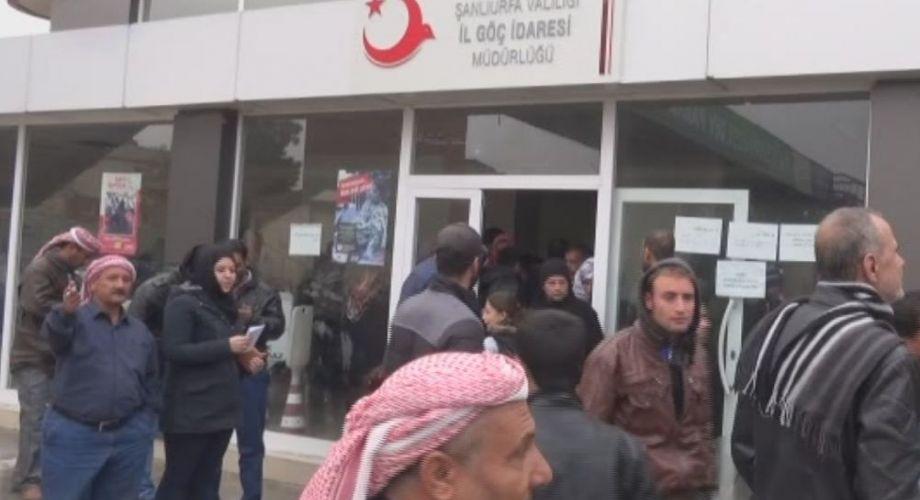 Göç İdaresinde Suriyeli Kuyruğu