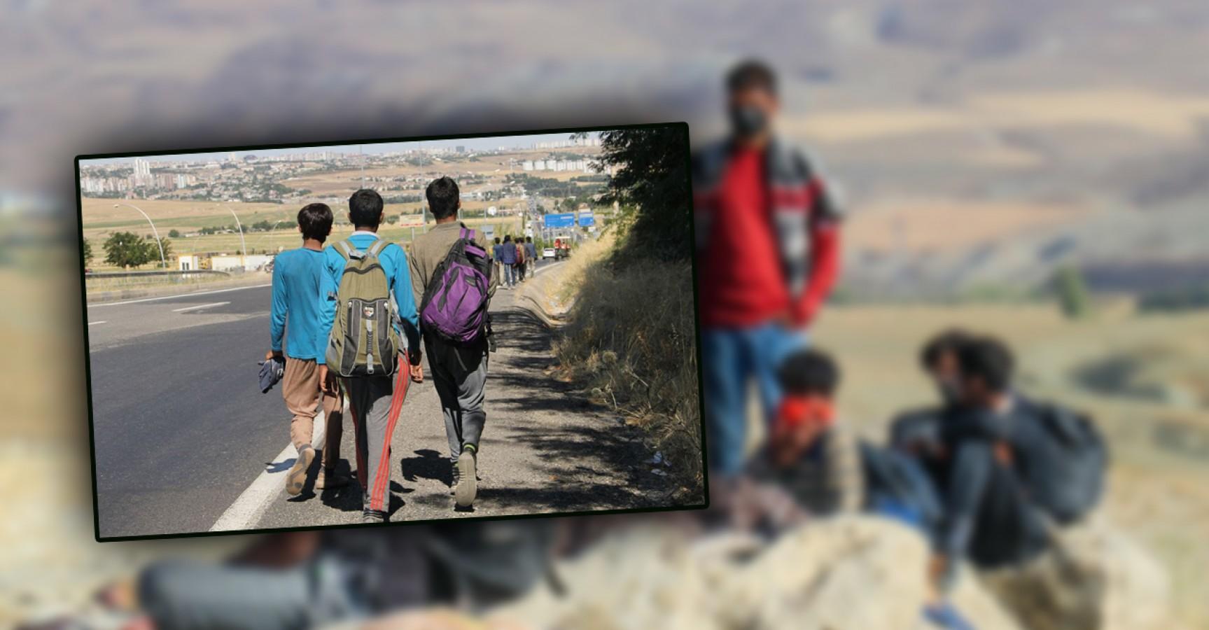 Göç yollarına düşen Afganlar Urfa'ya akın ediyor!