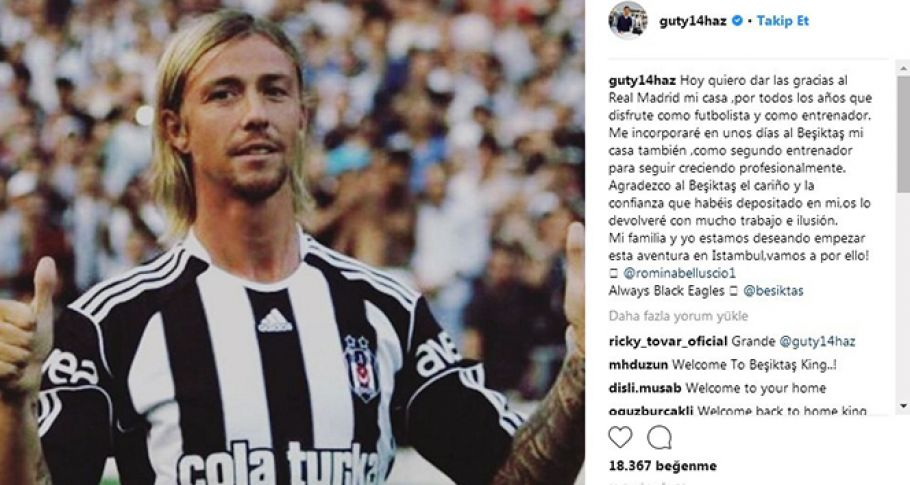 Guti Hernandez, Beşiktaş'ı açıkladı